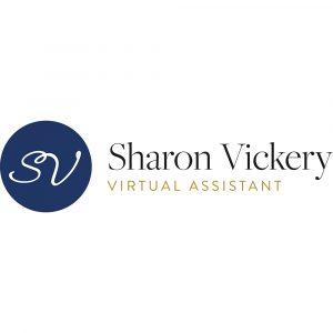 Sharon Vickery_logo_Landscape-CMYK
